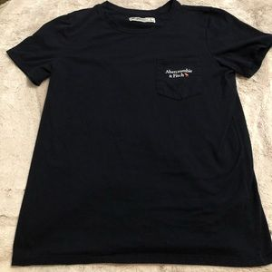 Abercrombie & Fitch Logo T-shirt.